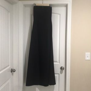 Vintage Laundry backless formal gown.